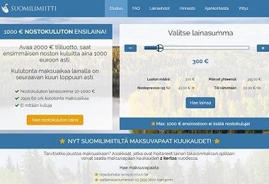 Suomilimiitti on ilmainen tililuotto sen ensinoston ollessa 1000 euroon asti täysin kuluton!