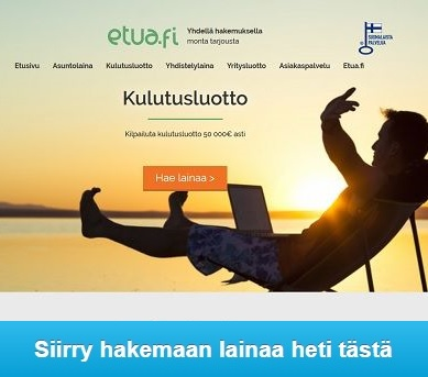 Etua.fi yhdellä hakemuksella aina monta tarjousta.