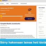 Komplett Bank – Uusi pankkilaina ilman vakuuksia.