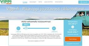 Luottoraja maksimissaan 2000€. Maksat vain siitä mitä käytät. Kuukausikorko alkaen vain 1,99%! Tästä kaikesta on Vippi.fi joustoluotossa kyse!